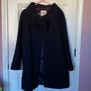 Kate Spade Peacoat with Large Bow